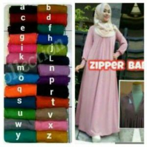 Gamis Baby Doll Zipper